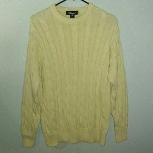 New Mens Blumarine Uomo Sweater M Cotton Cableknit
